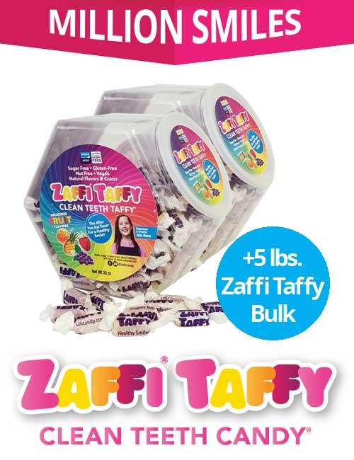Zaffi Taffy Million Smiles