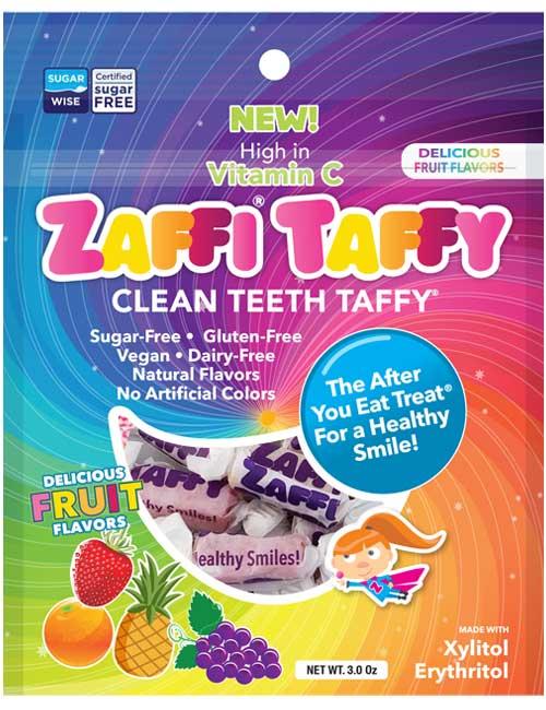 Zaffi Taffy Variety 3 oz Fruit