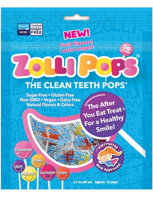 Zolli Pops 3.1 oz Fruit Assortment
